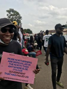 June 12 protest, Jos