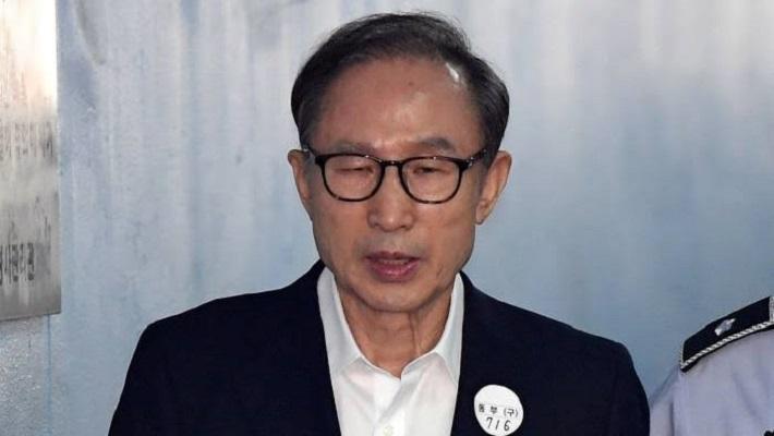 Former South Korean President Lee Myung-bak. [CREDIT: Facebook]