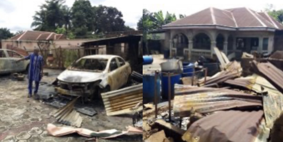 Residents groan as army raids Imo community, over 70 houses destroyed thumbnail