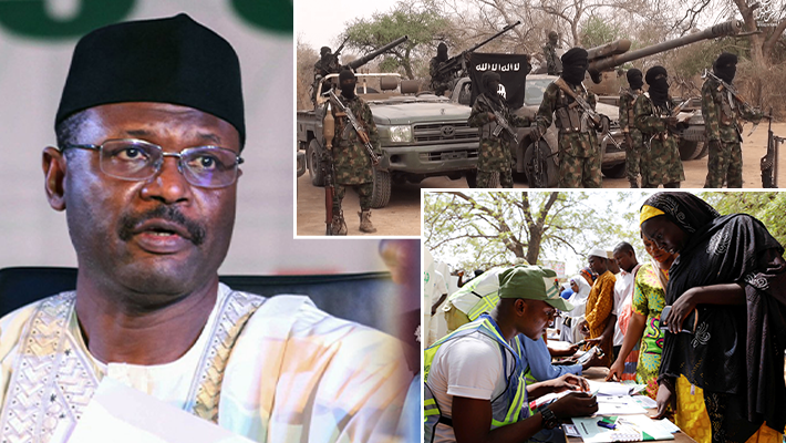INEC Chair, Boko Haram and voters