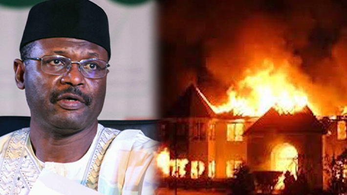 INEC Office Fire