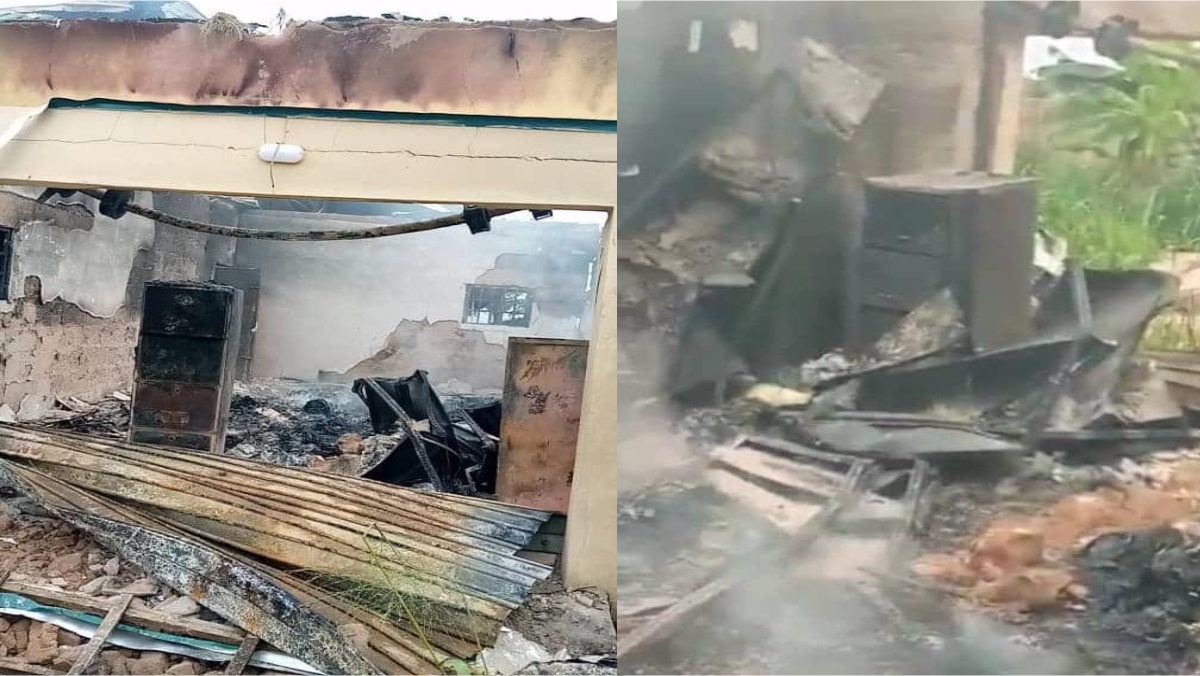 INEC Local Government Area Office in Abia State Set Ablaze
