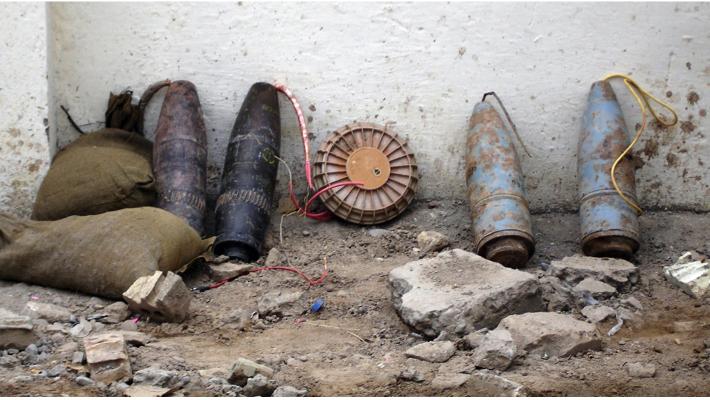Improvised explosives