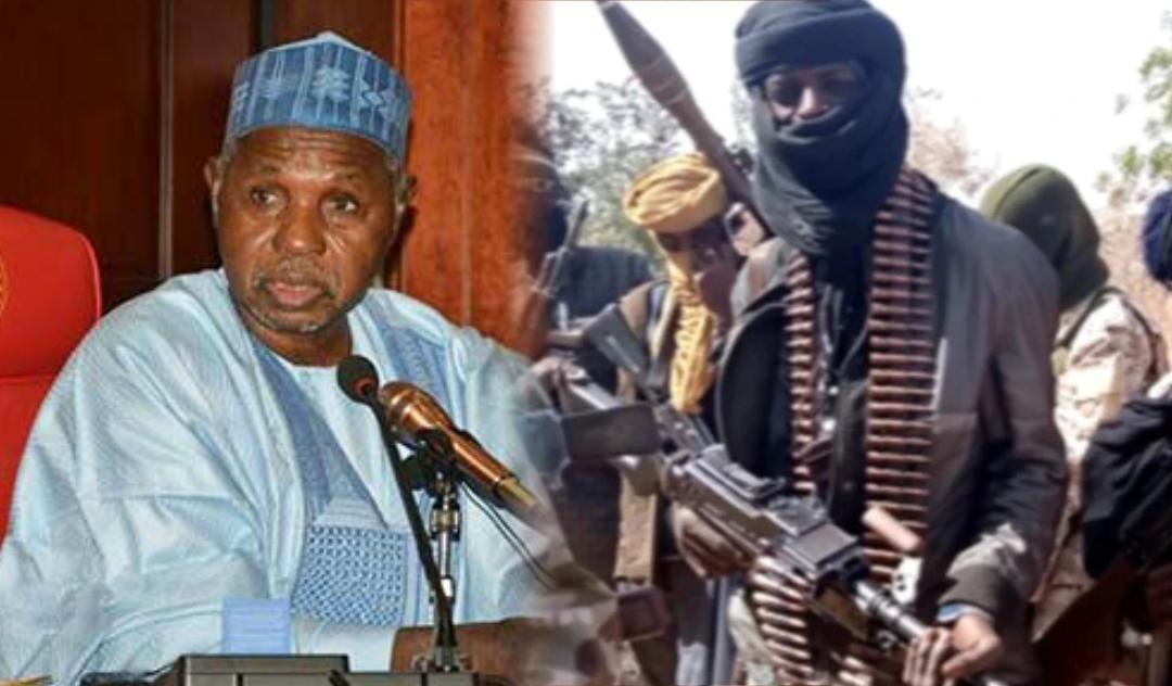 Katsina State governor, Aminu Bello Masari and Bandits
