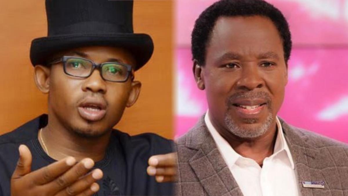 Kayode Ajulo and Prophet T. B. Joshua