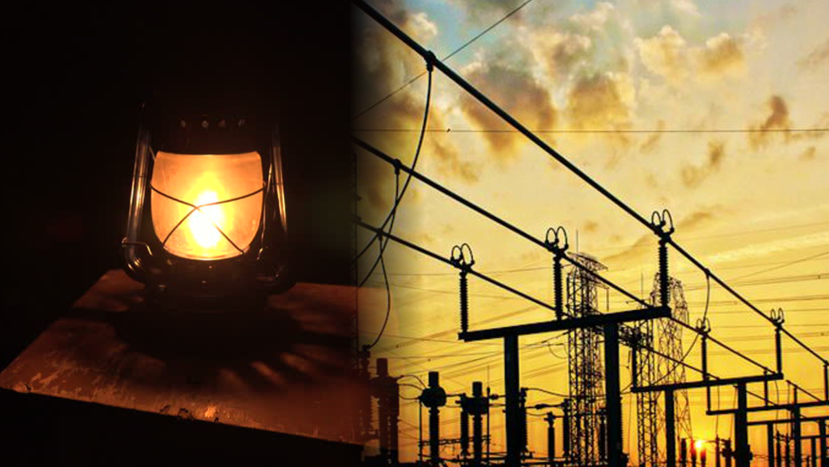 Lantern light and Powergrid used to illustrate the story
