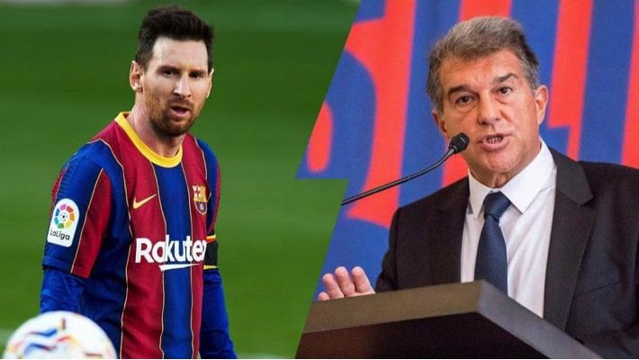 Laporta and Messi