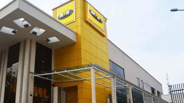 MTN office used to illustrate the story.