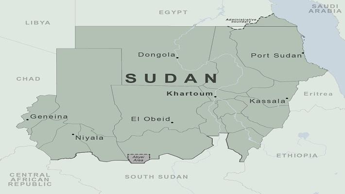 Map of Sudan. [PHOTO CREDIT: CDC]