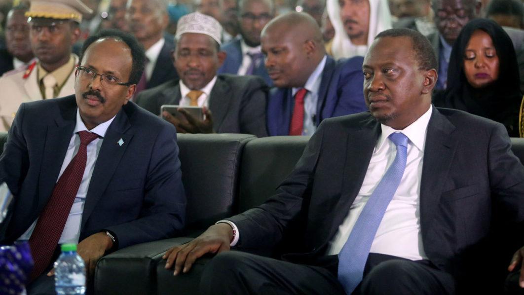 Mohamed Abdullahi Farmaajo and Uhuru Kenyatta