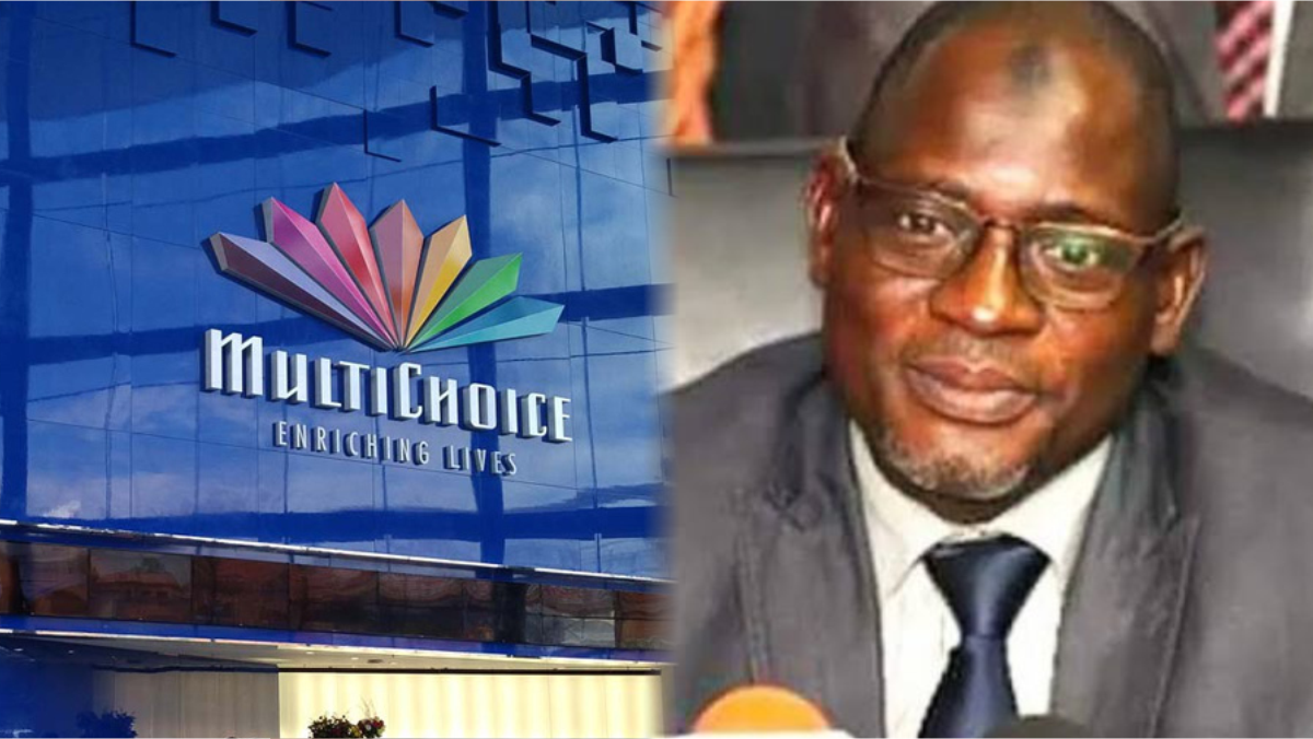 MultiChoice and Federal Inland Revenue Service (FIRS) chairman, Muhammad M. Nami