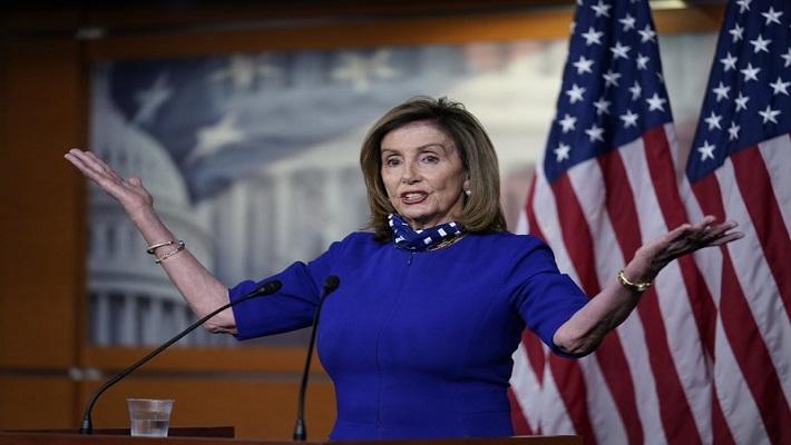 Nancy Pelosi. [PHOTO CREDIT: AP News]