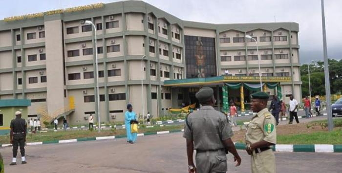 Photo of Nigerian Correctional Service HQ used to illustrate this story