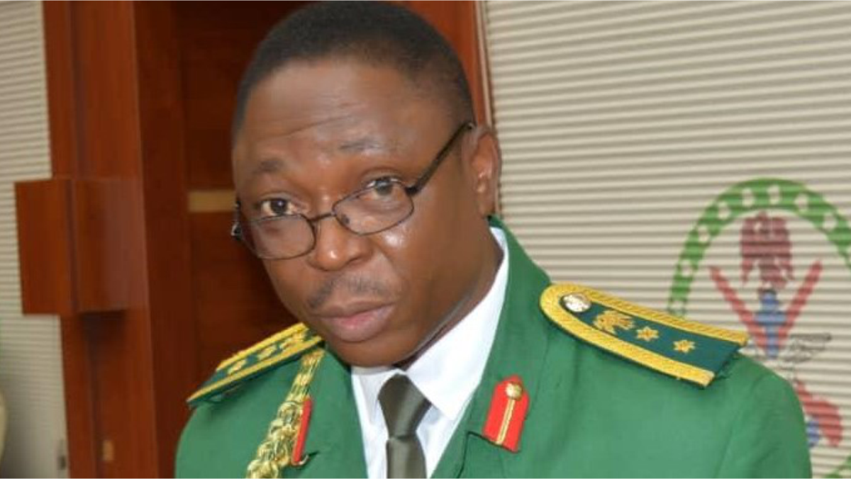 Nigerian Army spokesperson Brigadier-General Onyema Nwachukwu