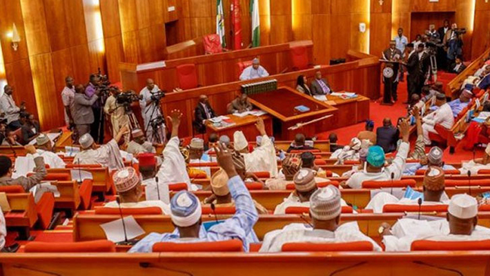 Nigerian Senate floor