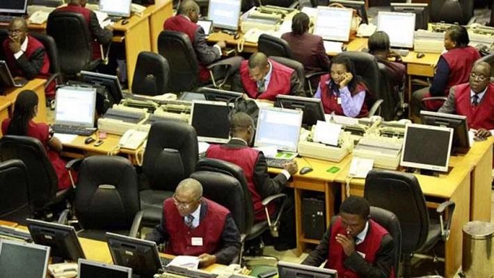 Nigerian trading floor