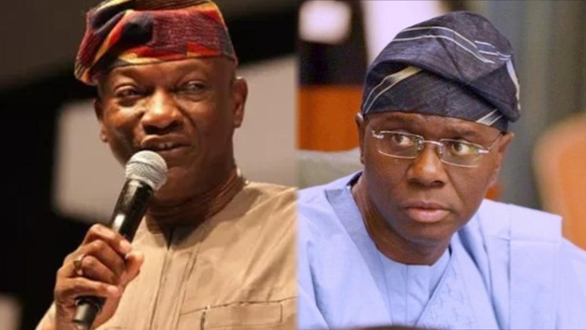 Olujimi Kolawole Agbaje and Lagos State Governor, Babajide-Sanwo-Olu