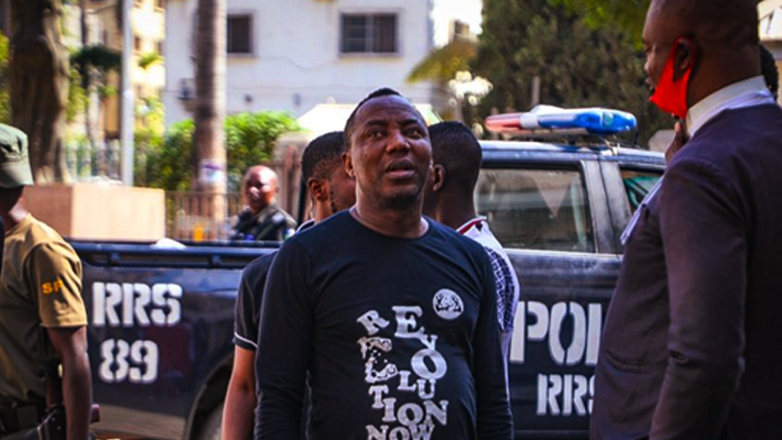 Omoyele Sowore (Credit: Channels TV)