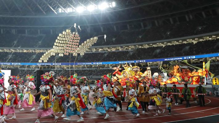 Opening ceremony of Olympics
