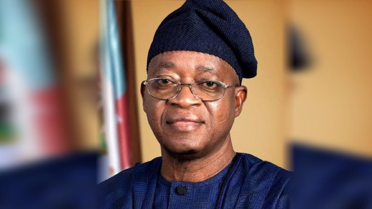 Osun State governor, Adegboyega-Oyetola (Photo Credit: @GboyegaOyetola)