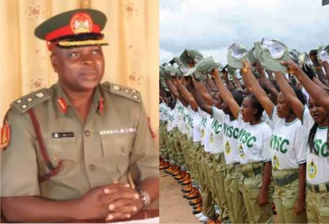 NYSC DG, Shuaibu Ibrahim, Corps members used to illustrate the story