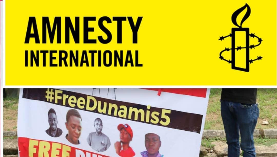 Amnesty International and Dunamis 5