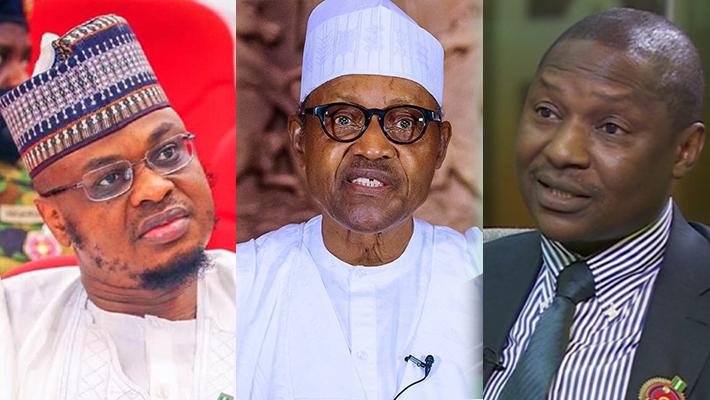 Pantami, Buhari and Malami
