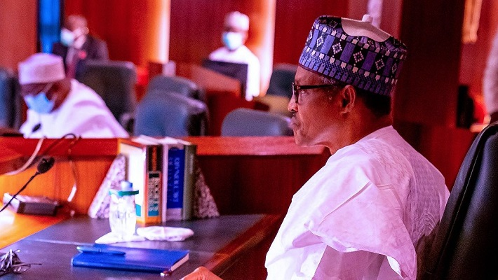 President Muhammadu Buhari. [PHOTO CREDIT: Twitter handle of Bashir Ahmad]