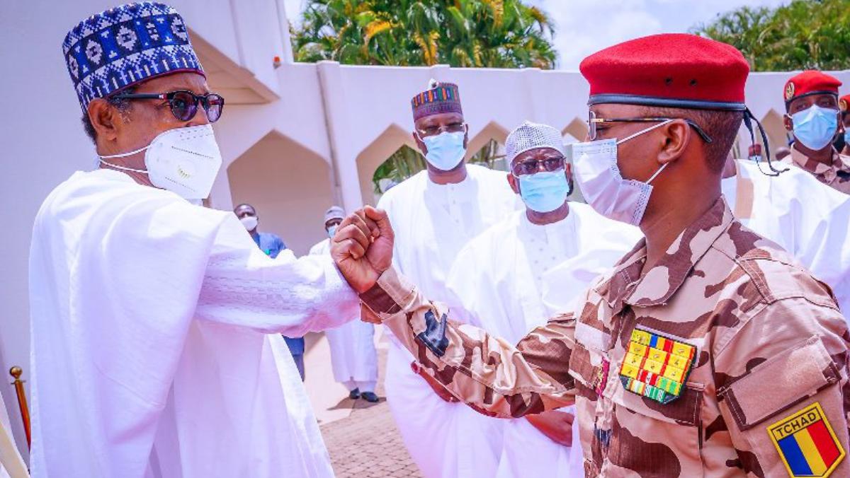 President Muhammadu Buhari and Mahamat Idriss Deby