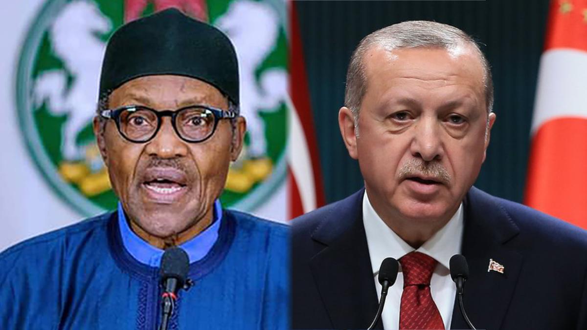 President Muhammadu Buhari and President of Turkey, Recep Tayyip Erdogan
