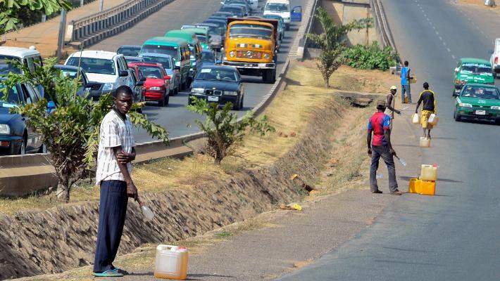 Roadside fuel sellers