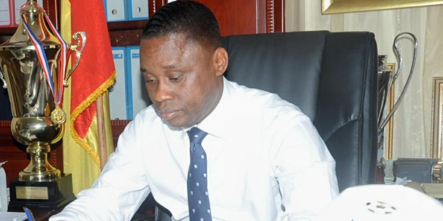 Guinea sports minister Sanoussy Bantama Sow (Photo| Facebook)