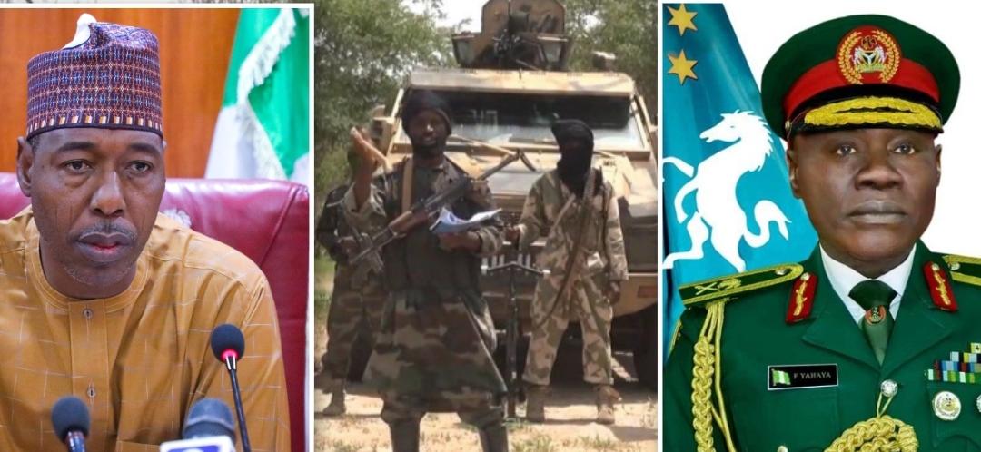 Boko Haram, Zulum and Farouk