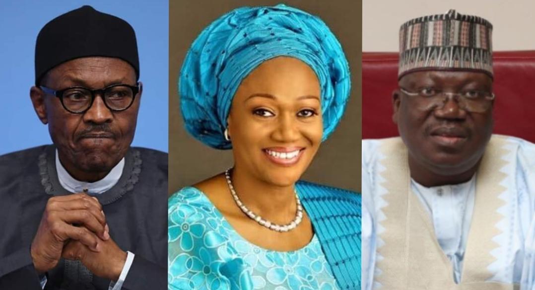Buhari, Tinubu and Lawan