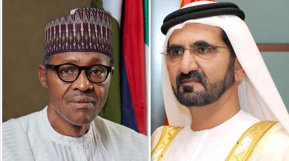 Buhari and Dubai leader