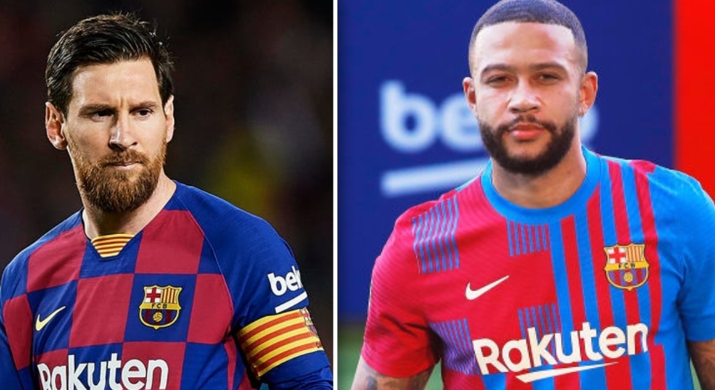 Messi and Depay