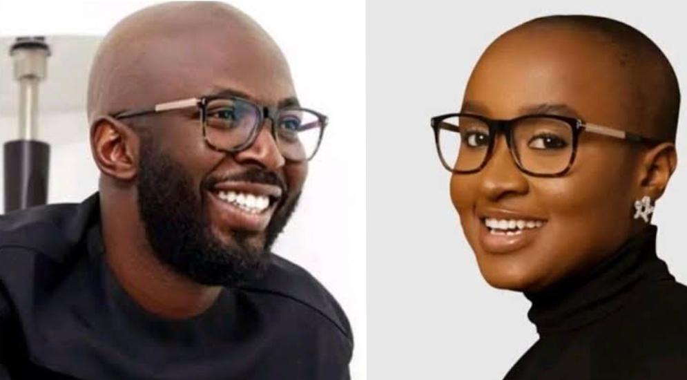 Muyiwa Folorunsho and Glory Osie