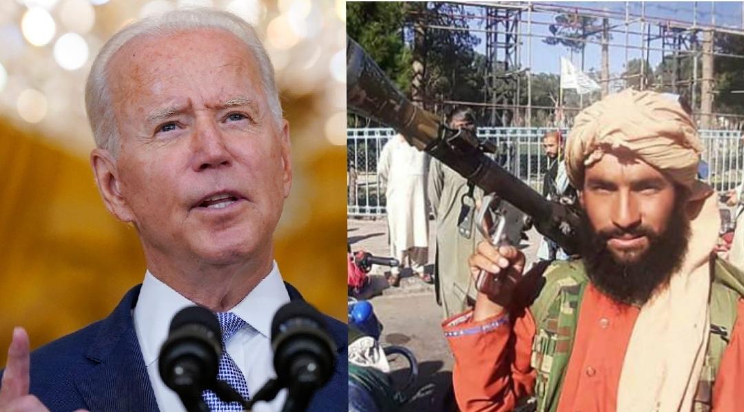 Biden and Taliban