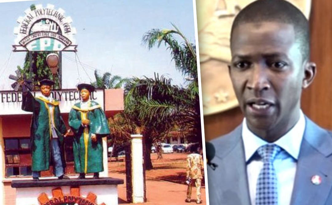 EFCC Chair Bawa and Offa Poly Gate
