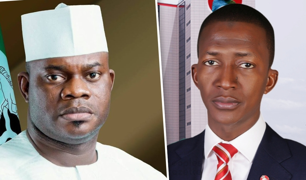 Yahaya Bello and Abdulrasheed Bawa