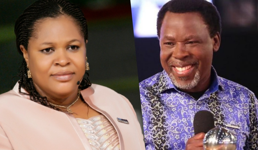 Evelyn and TB Joshua