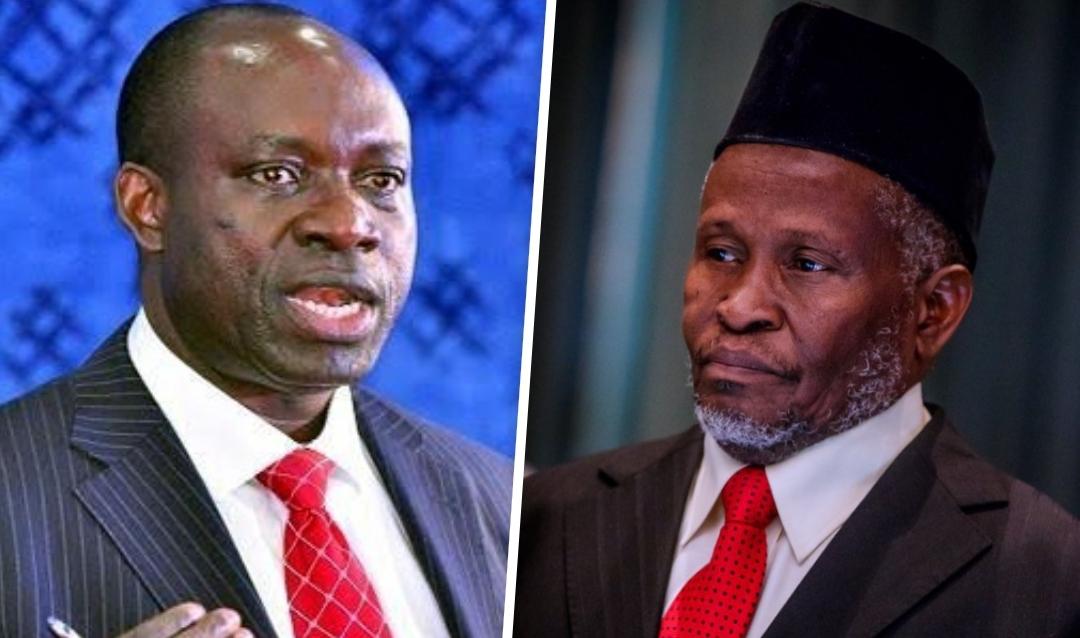 Charlse Soludo and Ibrahim Tanko