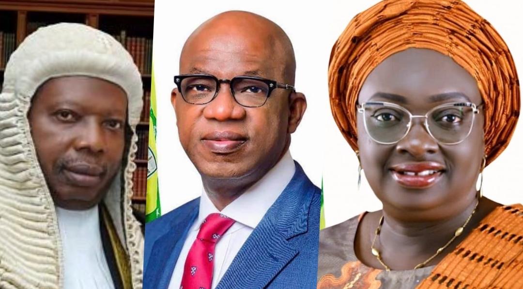 Dapo Abiodun, Noimot Salako-Oyedele and Olakunle Olumo composite used to illustrate this story