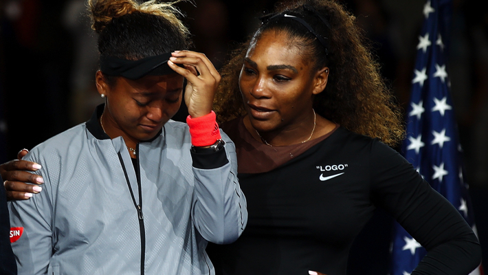 Serena and Osaka