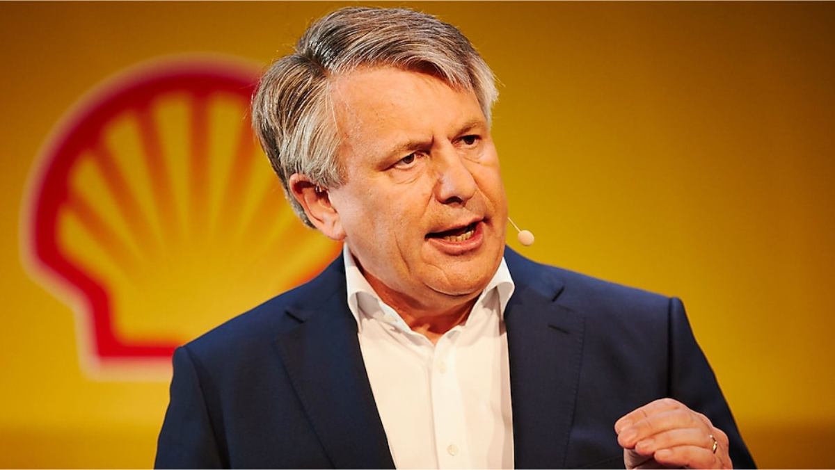 Shell CEO Van Beurden