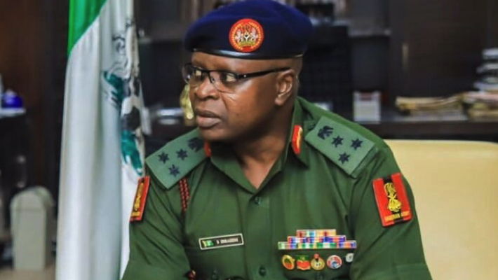 The Director-General, National Youth Service Corps (NYSC), Brig.- Gen. Shuaibu Ibrahim