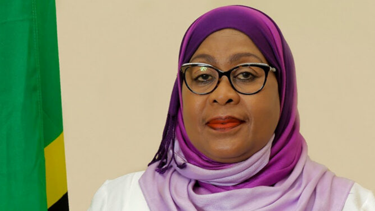 Tanzanian President, Samia Suluhu Hassan