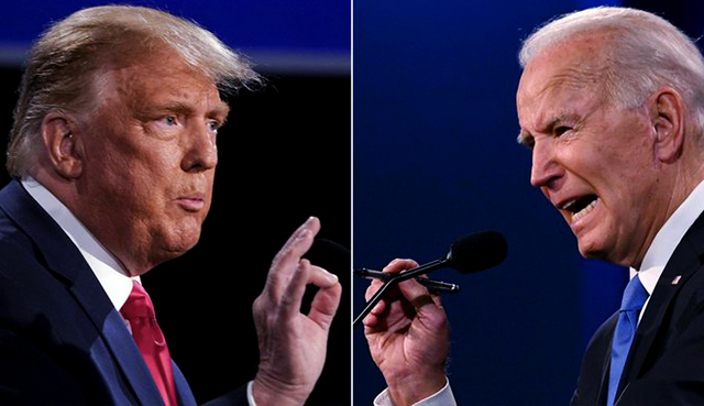 Trump and Biden (Credit: Forbes)