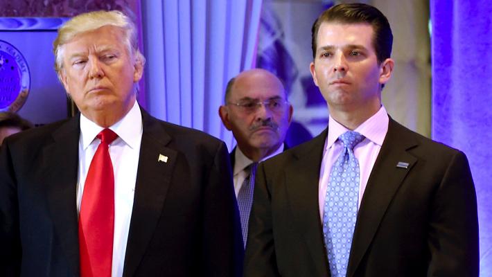 Trump and Trump Jr.
