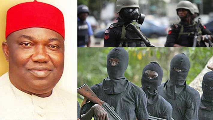 Ugwuayin, UGM and policemen